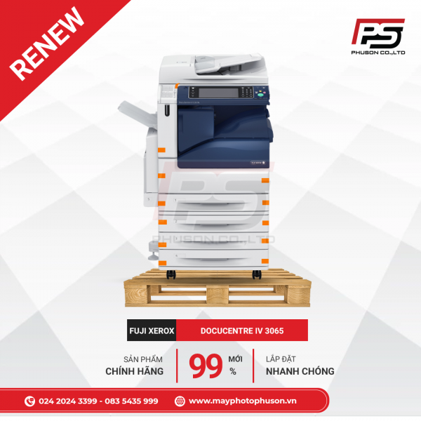 Máy Photocopy Fuji Xerox DocuCentre-IV 3065 Refurbished