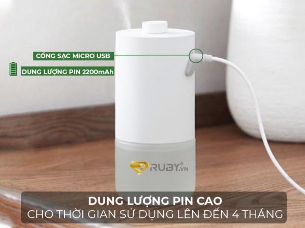 Máy Phun Tinh Dầu Tạo Mùi Thơm Tự Động Xiaomi Mijia MJXFJ01XW, An Toàn Sức Khỏe