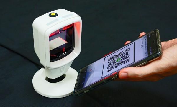 Máy quét mã vạch Cino FuzzyScan S680 quét mã QR phòng chống dịch