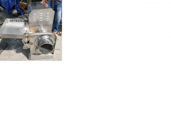 Máy tách xương cá Cr200, máy ép cá biển, máy lọc xương cá thác lác, máy ép cá Cr200