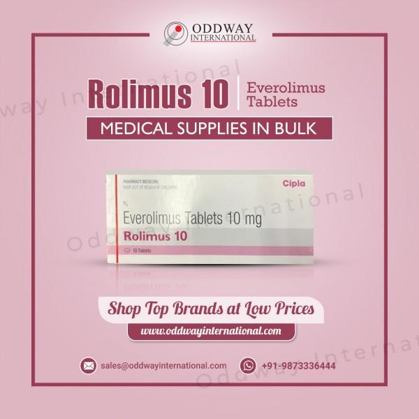 Máy tính bảng Rolimus 10mg - Mua trực tuyến với giá thấp nhất từ nhà cung cấp thuốc