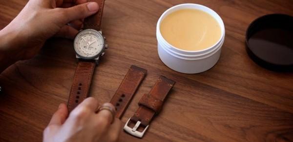 Mẹo bảo quản dây đeo đồng hồ da