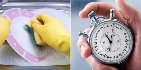 Mẹo rửa chén vô cùng nhanh và sạch đến không ngờ