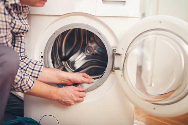 Mẹo vệ sinh máy giặt cửa trước tại nhà