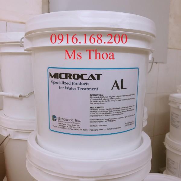 MICROCAT AL - Vi sinh bột, nguyên liệu Mỹ giúp làm sạch nước, ổn định chất lượng nước