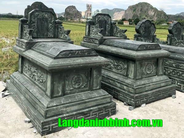 Mộ đá ninh bình chất lượng hoàn thiện tốt nhất tại Tuyên Mai.