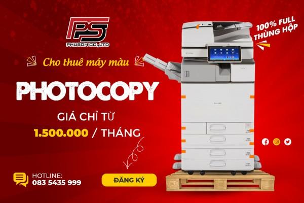 Một số lưu ý khi mua máy photocopy ricoh