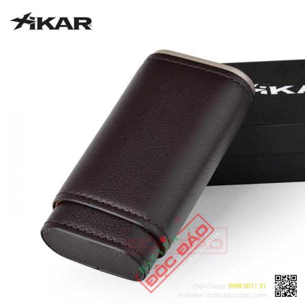 Mua bao da xì gà, bao da Xikar 3 điếu 249BK  ở đâu giá tốt?