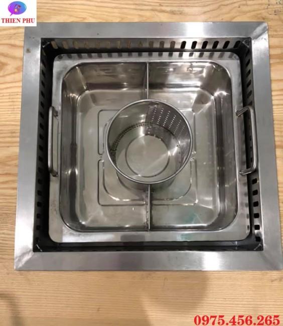 Mua bếp lẩu 1 ngăn- 3 ngăn âm bàn tại Hải Phòng
