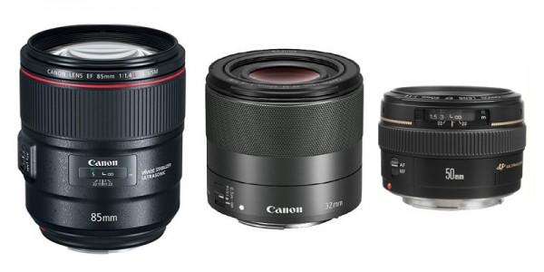 Mua ống kính Canon chụp chân dung nào?