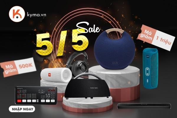 Mua sản phẩm âm thanh tại Kyma nhận ngay Voucher giảm giá đến 1 triệu