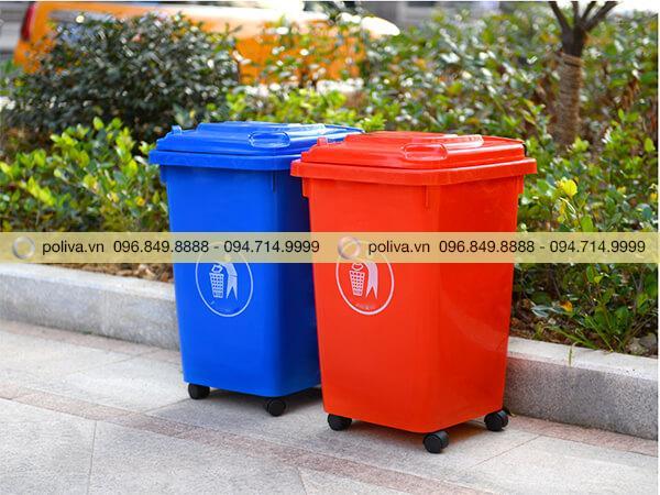 Mua sọt rác 60 lít, 120 lít, 240 lít có chất lượng tốt ở đâu