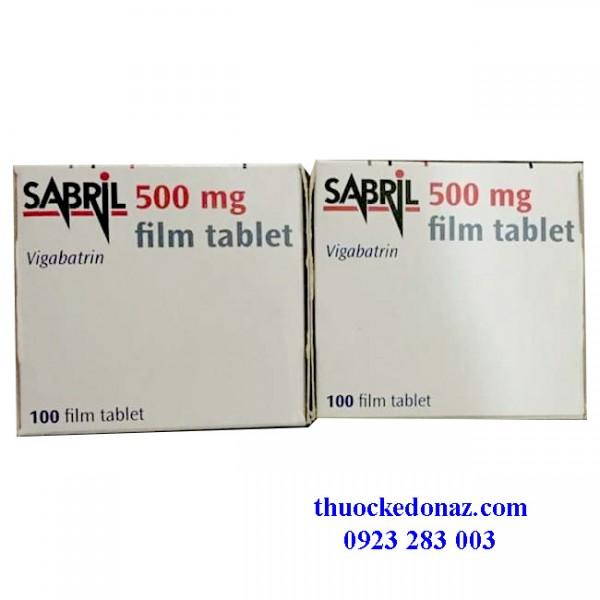 Mua thuốc Sabril 500mg ở đâu uy tín? Thuốc Sabril giá bao nhiêu?