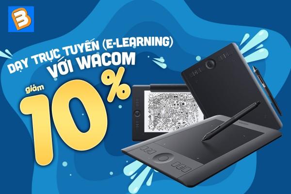 Mua Wacom để những buổi dạy trực tuyến (E-Learing) thêm chất lượng