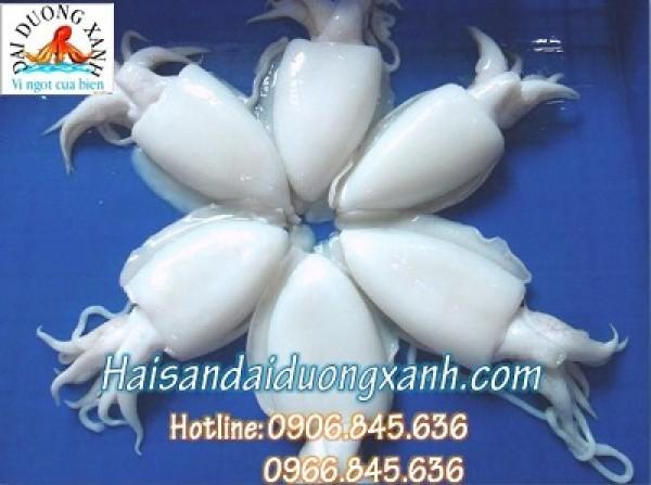 Mực nang chế biến món ngon tại Việt Nam