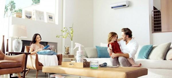 Mùi máy lạnh trong phòng kín có thể làm bạn khó chịu