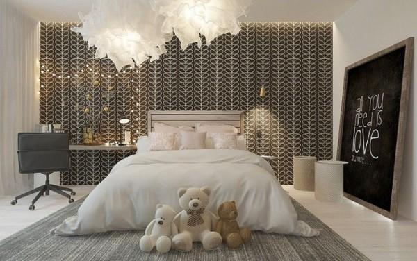 Nghệ thuật thiết kế phòng ngủ cá tính và sống động