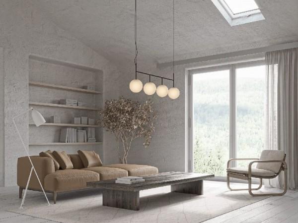 Ngôi nhà thu hút bằng lối thiết kế mộc mạc, lạ mắt