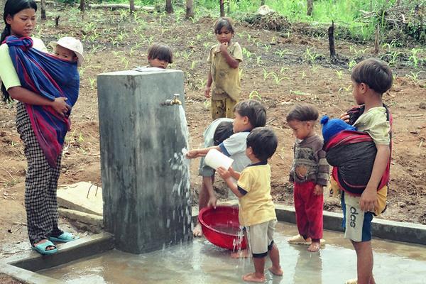 Nguồn nước dưới đất để cung cấp nước sinh hoạt
