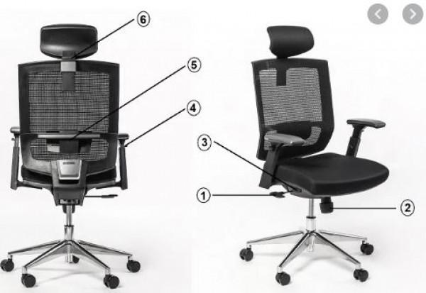 Nguyên tắc lựa chọn ghế văn phòng phù hợp