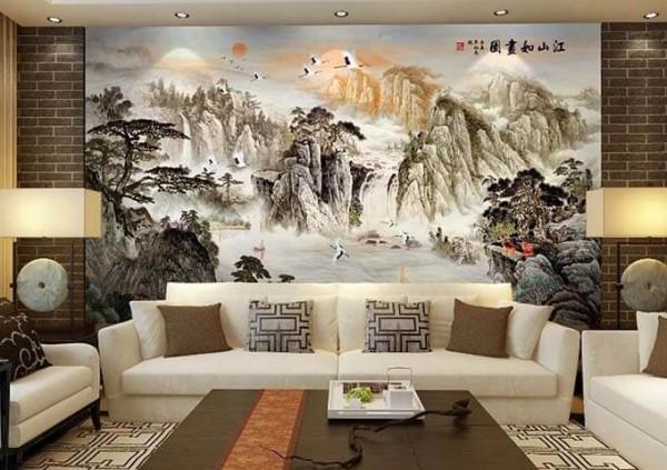 Nguyên tắc thiết kế nội thất phòng khách nhà phố đẹp ấn tượng