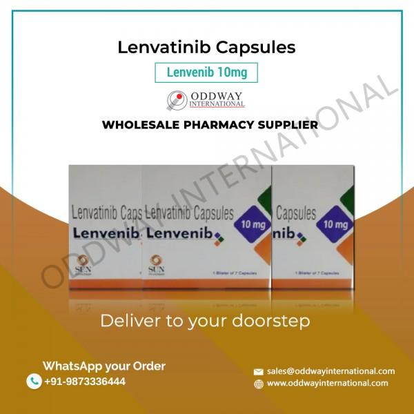 Nhà bán buôn & xuất khẩu Viên nang Lenvatinib 10mg Lenvenib