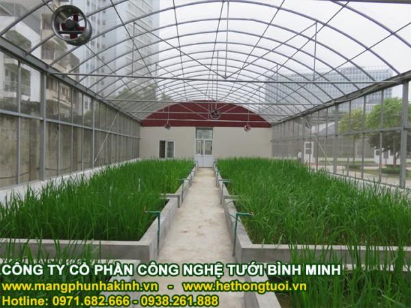Nhà lưới nông nghiệp, mô hình nhà lưới Politiv, chi phí làm nhà lưới nông nghiệp