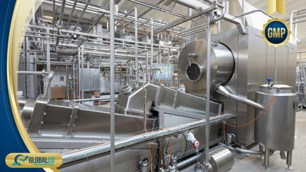 Nhà máy chuẩn GMP-HS gia công thực phẩm bảo vệ sức khỏe