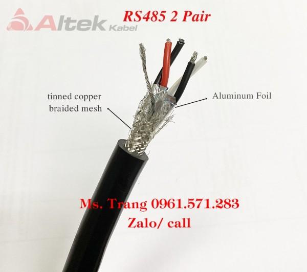 Nhà phân phối cáp truyền thông Altek Kabel RS485 2Pair 18awg