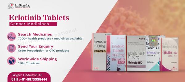 Nhà xuất khẩu bán buôn của thuốc Erlotinib chung - Oddway International
