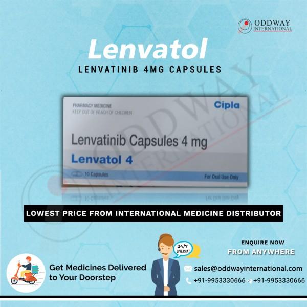 Nhà xuất khẩu bán buôn viên nang Lenvatol 4mg Lenvatinib