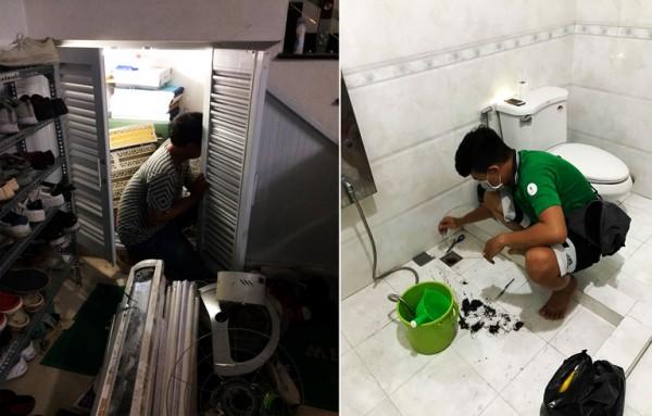 Nhu cầu vệ sinh nhà mùa tết tăng cao