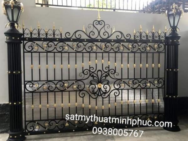 Những cái hàng rào sắt mỹ thuật chất lượng và độ thẩm mỹ cao giúp mang đến sự chấp thuận.