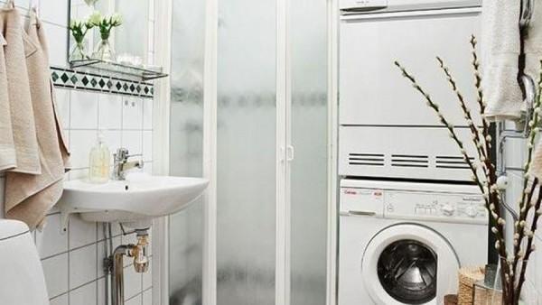 Những điều đáng chú ý khi bạn muốn đặt máy giặt trong nhà tắm