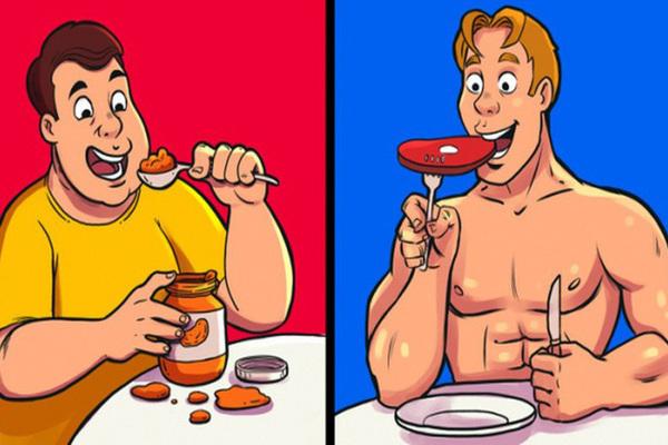 Những hiểu biết sai lầm giúp bạn giảm cân thất bại