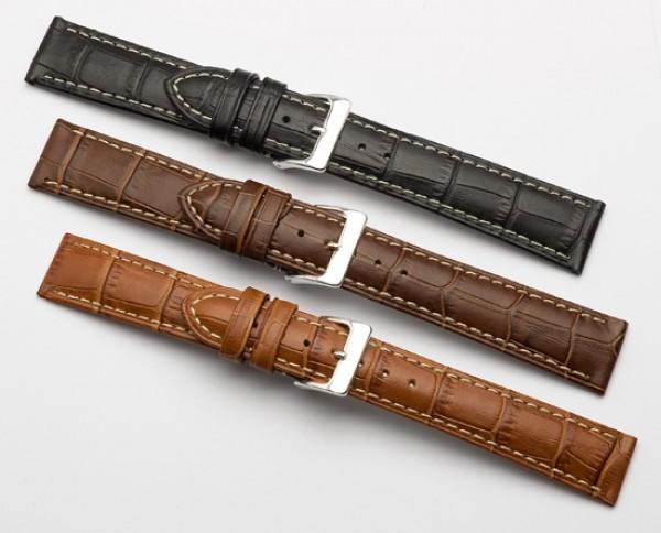 Những loại da thường làm dây đồng hồ