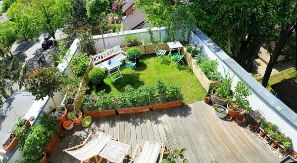 Những lợi ích của khu vườn trên mái nhà