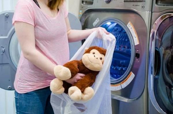 Những lưu ý khi giặt thú nhồi bông bằng máy giặt