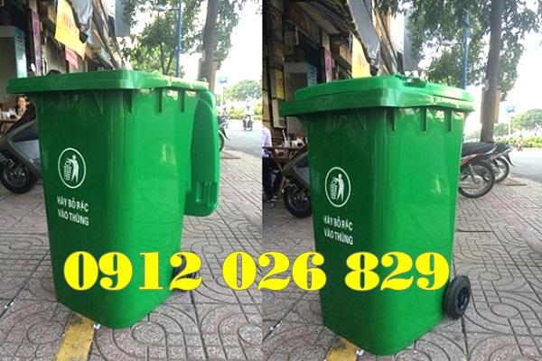 Những lưu ý khi sử dụng thùng rác nhựa công cộng