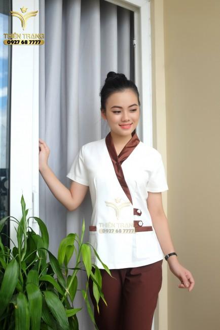 những mẫu đồng phục nhân viên massage đẹp nhất