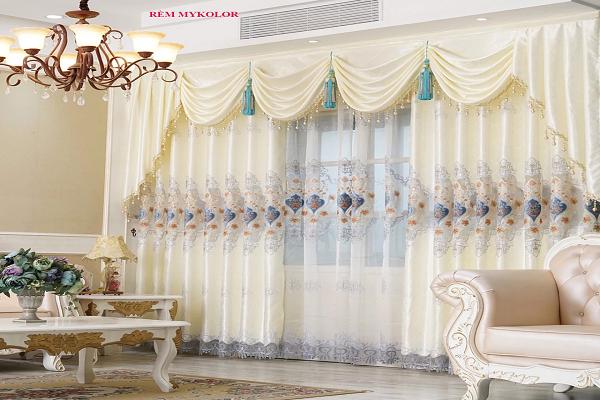 Những mẫu rèm cửa phòng khách được nhiều người dùng quan tâm