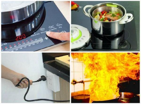 Những sai lầm  gây nguy hiểm cho bạn khi sử dụng bếp gas
