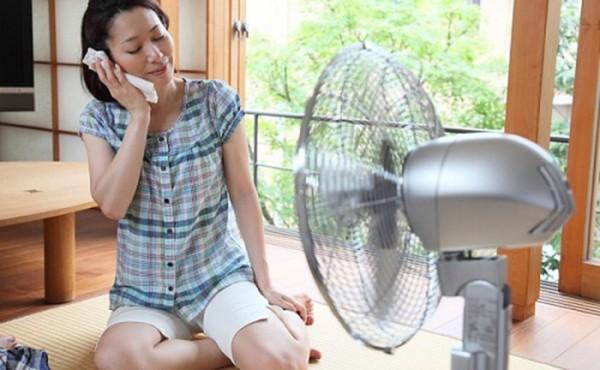 Những sai lầm thường mắc phải khi sử dụng quạt mùa nóng