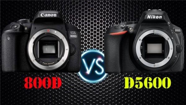 Nikon D5600 với Canon EOS 800D: Giải thích những điểm khác biệt chính