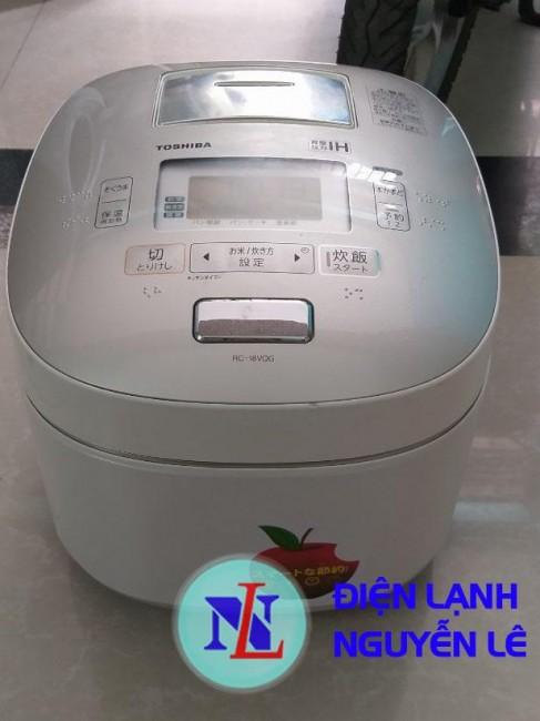 Nồi cơm cao tần TOSHIBA RC-18VQG 1.8L áp suất+hút chân không 2 van