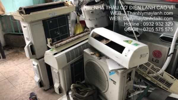 Nơi thu máy lạnh hư hỏng quận 1 - 0932.932.329