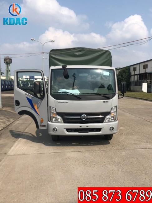 Ô Tô Á Châu -  Xe tải Cabstar NS350 thùng bạt 3t5