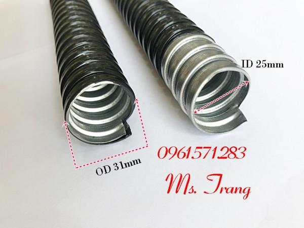 Ống sun sắt, ống kẽm bọc nhựa phi 20