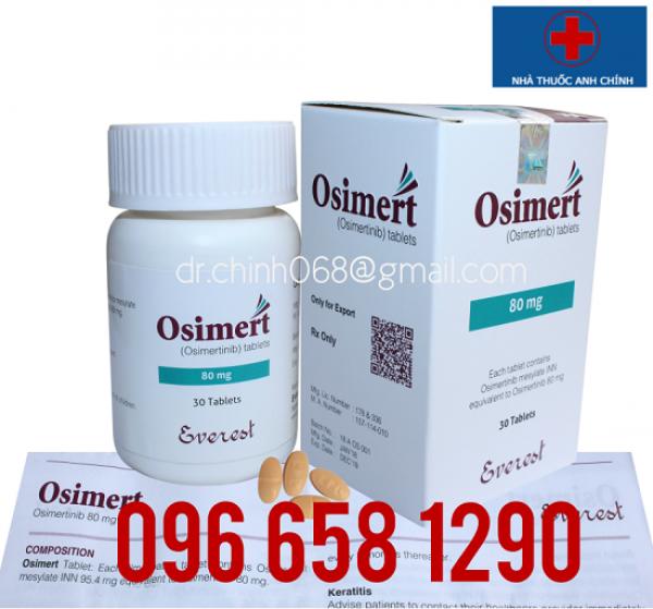 Osimert 80mg điều trị ung thư phổi không tế bào nhỏ