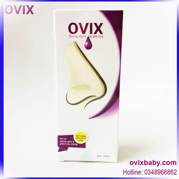 Ovix dùng khi xoang viêm mũi dị ứng ở người lớn